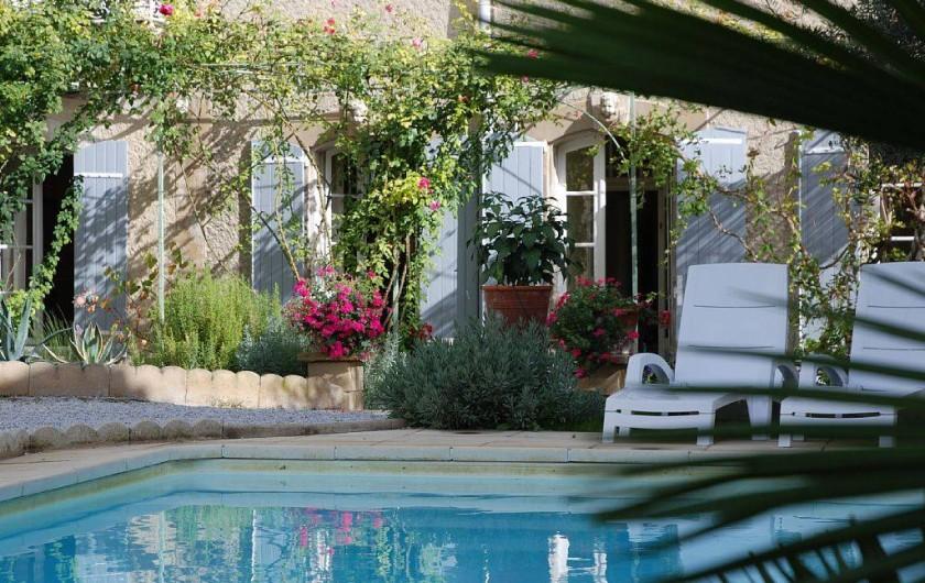 Location de vacances - Villa à Bram - Maison Coup de Coeur - Pool