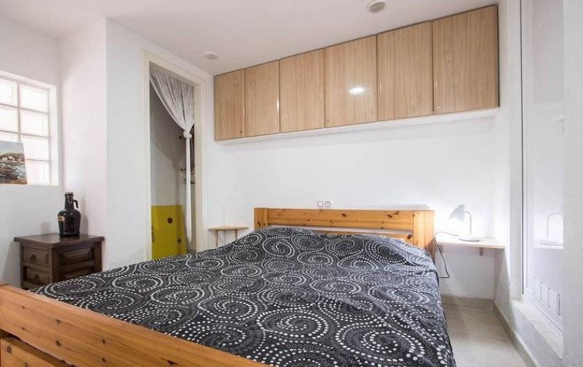 Location de vacances - Villa à Benissa - la chambre du studio