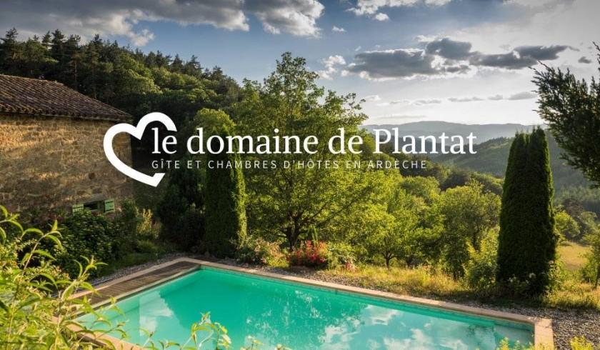 Le Domaine de Plantât Gîte et chambres d'hôtes en Ardèche