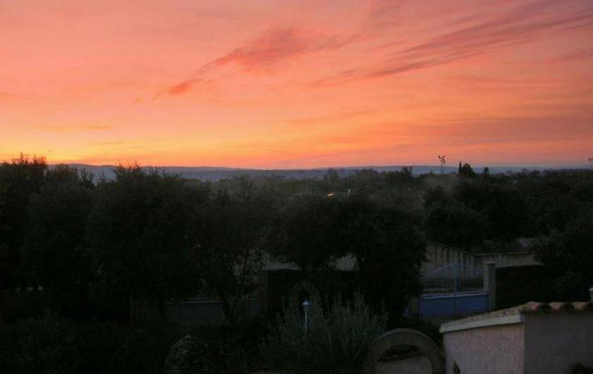 Location de vacances - Villa à Vers-Pont-du-Gard - Vue panoramique sur les gorges du Gardon