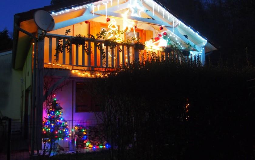 Location de vacances - Chalet à Saint-Gérons - Chalet décoré à Noël: une bûche aux marrons faite maison offerte
