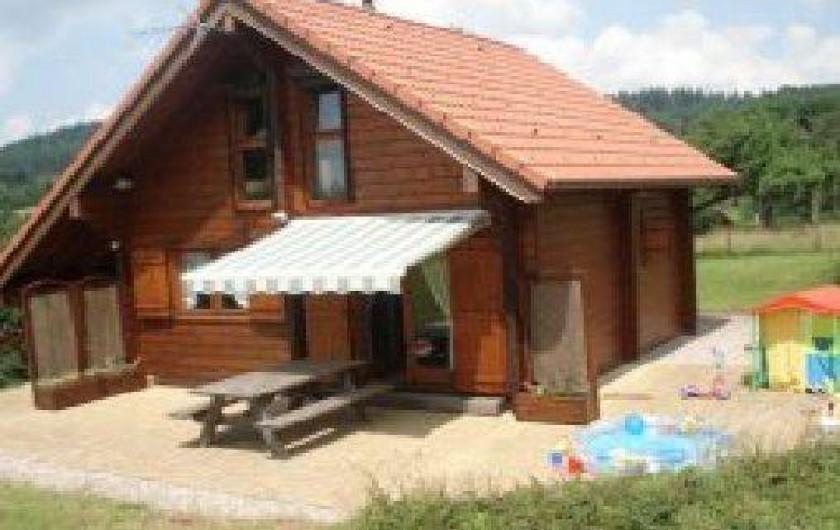 Location de vacances - Chalet à Girmont-Val-d'Ajol