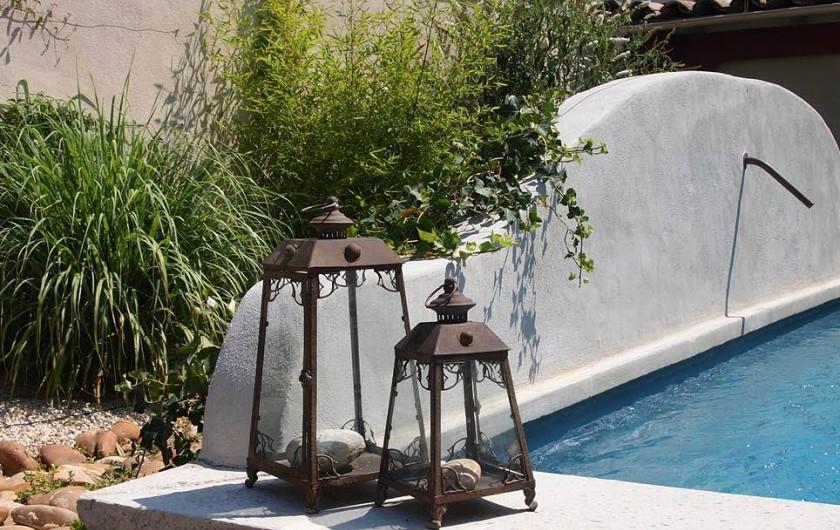 Location de vacances - Chambre d'hôtes à Saint-Saturnin-lès-Avignon - Bassin de baignade