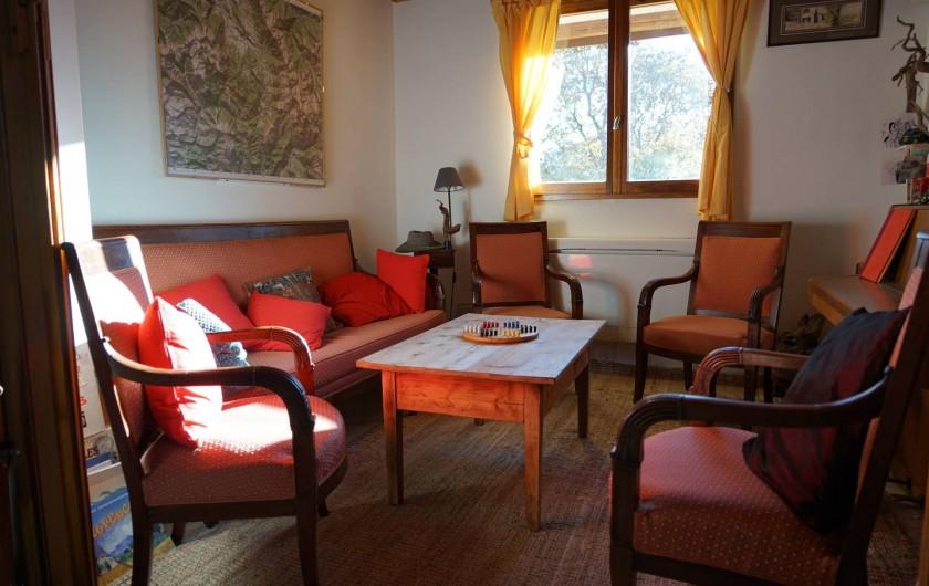 Location de vacances - Chalet à Seyne - petit salon