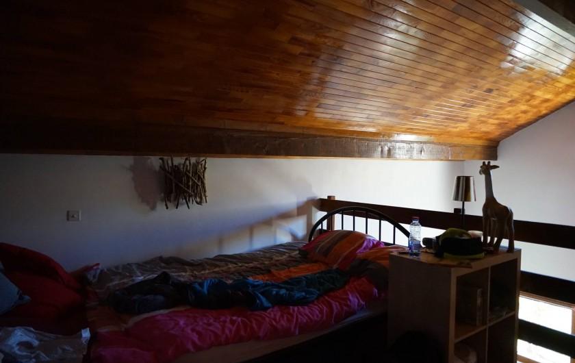 Location de vacances - Chalet à Seyne - chambre 3 :mezzanine