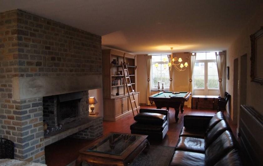 Location de vacances - Gîte à Buissonville - Salon de la maison
