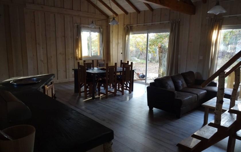 Location de vacances - Maison - Villa à Naujac-sur-Mer - vue d'ensemble depuis l'entrée
