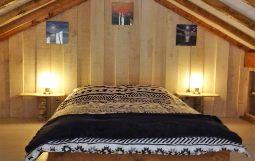 Location de vacances - Maison - Villa à Naujac-sur-Mer - chambre mezzanine