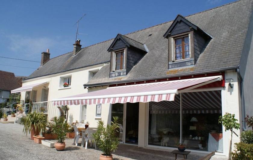 Location de vacances - Chambre d'hôtes à La Croix-en-Touraine - Accueil de LA ROCHELINE