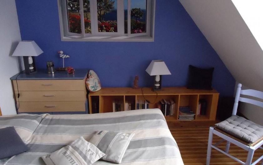 Location de vacances - Chambre d'hôtes à La Croix-en-Touraine - COULEUR du SUD 2ème chambre de la suite familiale