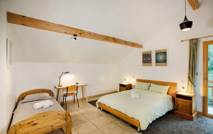 Location de vacances - Chalet à Samoëns - chambre 2, avec lit simple