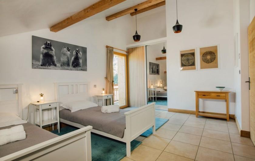 Location de vacances - Chalet à Samoëns - chambre 4