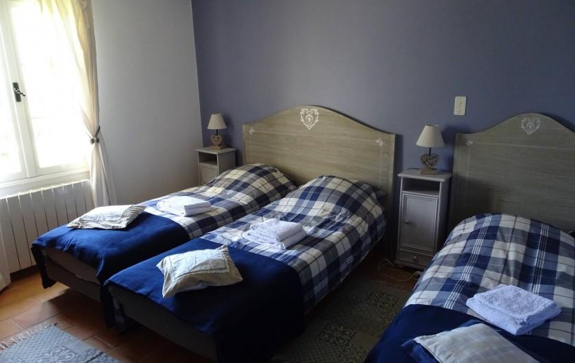 Location de vacances - Mas à Uzès - chambre d'enfant