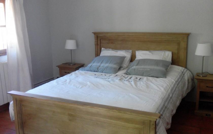Location de vacances - Mas à Uzès - Une autre chambre double avec terrasse privative