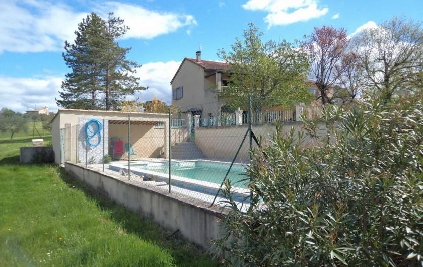 Location de vacances - Gîte à Saint-Victor-de-Malcap - la piscine