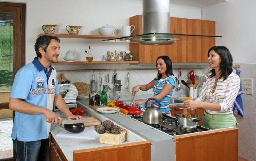 Location de vacances - Villa à San Venanzo - La Cuisine