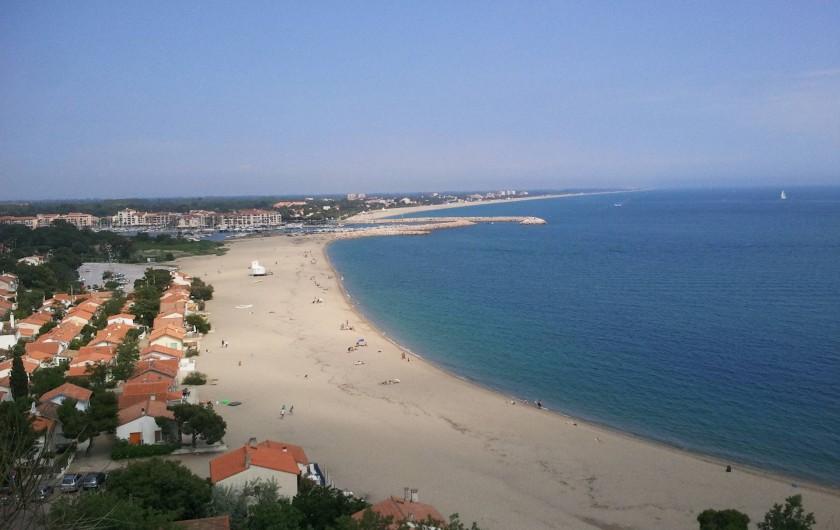 Location de vacances - Appartement à Saint-Cyprien Plage - Les plages