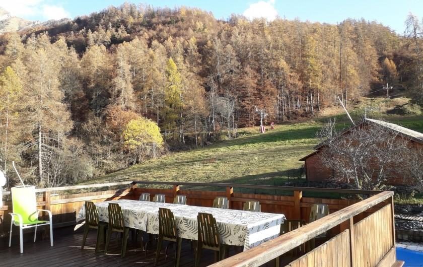 Location de vacances - Maison - Villa à Saint-Léger-les-Mélèzes - TERRASSE APPART DU HAUT