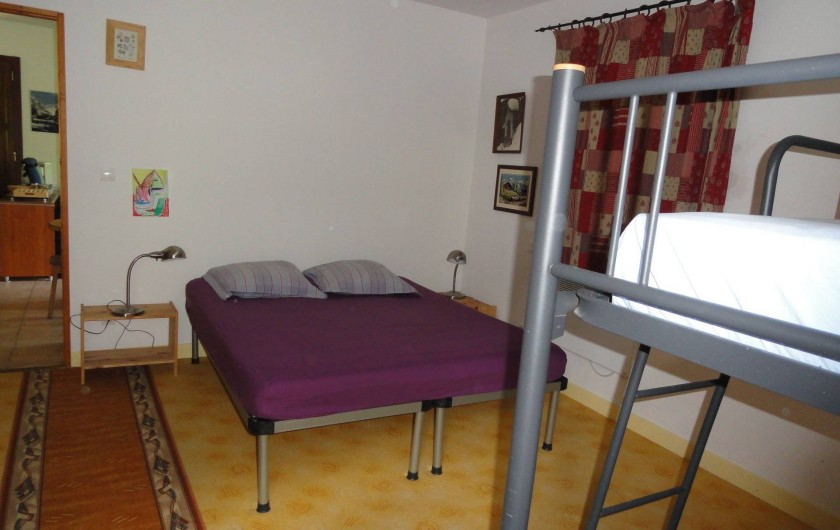 Location de vacances - Appartement à Vénosc - Chambre