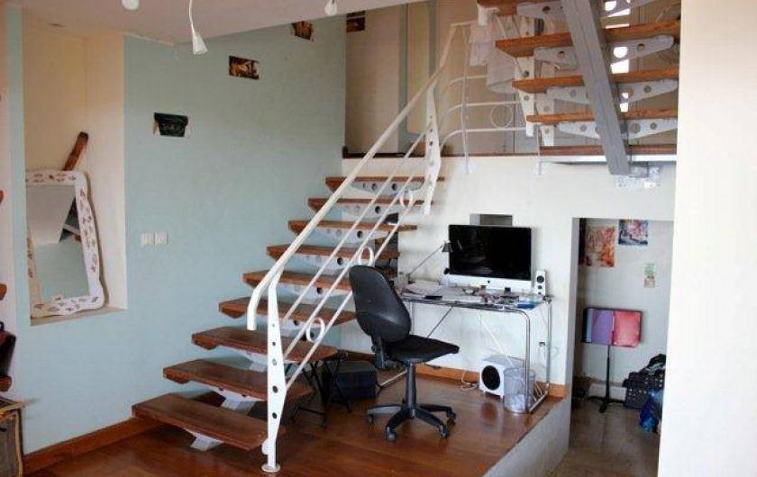 Location de vacances - Villa à Saint-Paul - Escalier