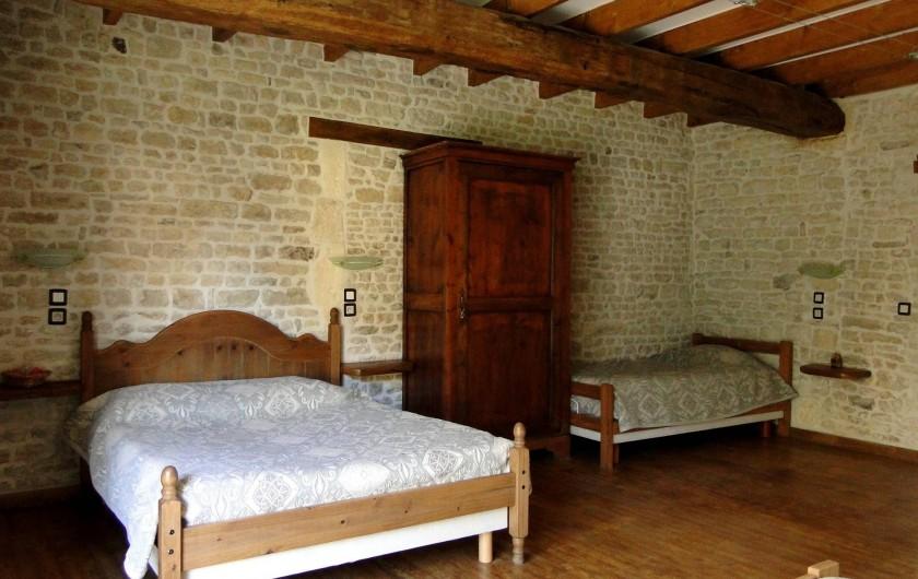 Location de vacances - Chambre d'hôtes à Andilly - La chambre familiale La Venise Verte au charme rustique