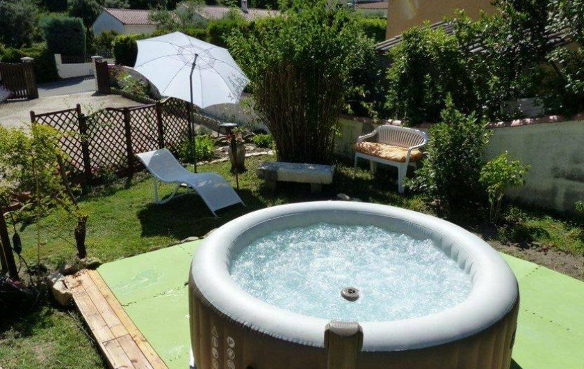 Location de vacances - Chambre d'hôtes à Comps - Coin détente