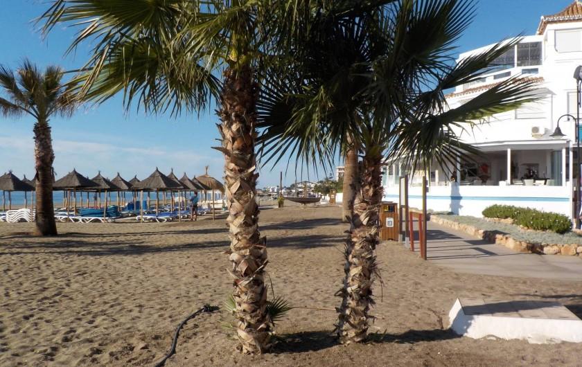 Location de vacances - Appartement à La Cala de Mijas - La plage de La Cala