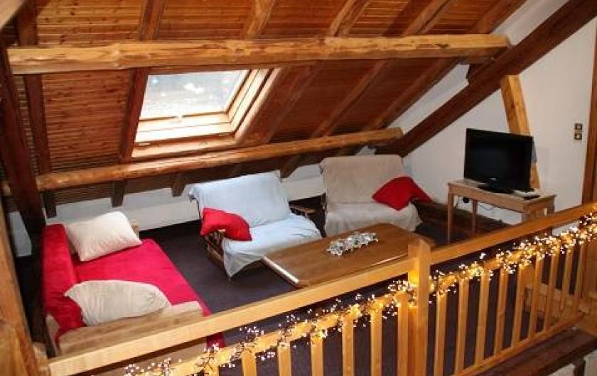Location de vacances - Gîte à Rochesson - Mezzanine Chalet