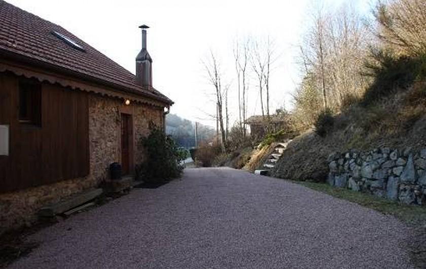 Location de vacances - Gîte à Rochesson - Entrée Grand Gite