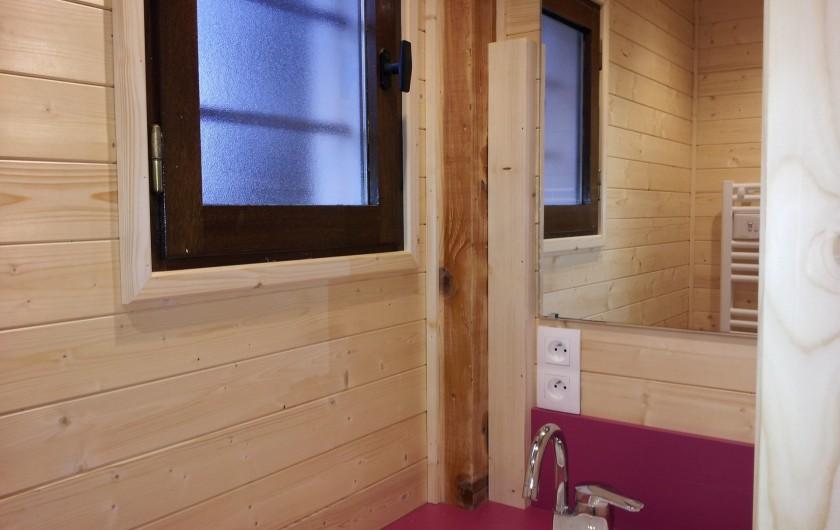 Location de vacances - Chalet à Lans-en-Vercors - douche