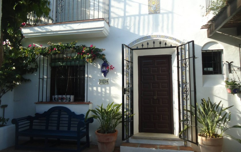 Location de vacances - Chalet à Marbella - entrée