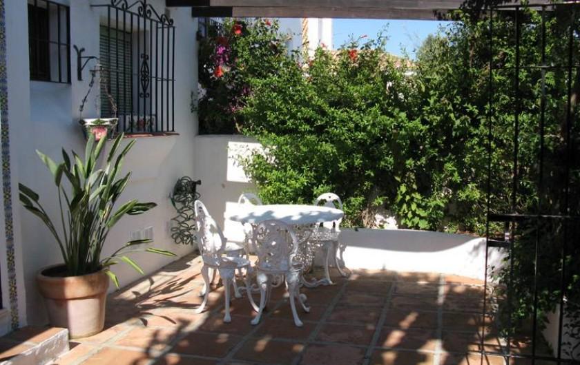 Location de vacances - Chalet à Marbella - terrasse