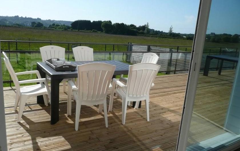 Location de vacances - Gîte à Locquirec - Ty Papy - Terrasse