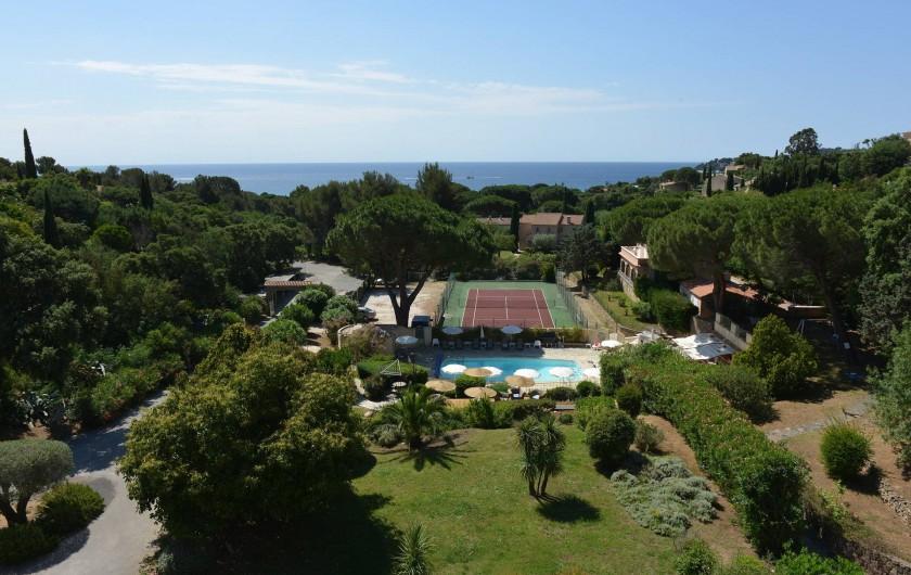 Location de vacances - Chambre d'hôtes à Cavalaire-sur-Mer - 27 chambres avec la vue sur mer
