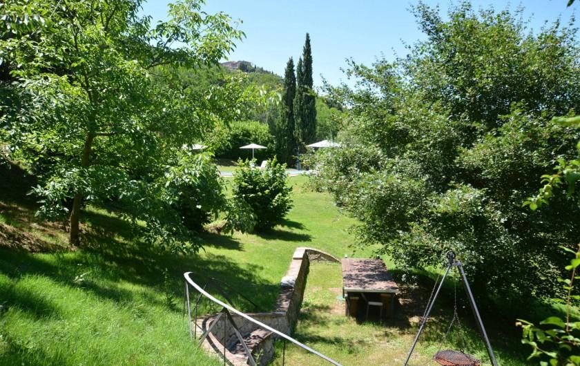 Location de vacances - Appartement à Radicondoli - BBQ
