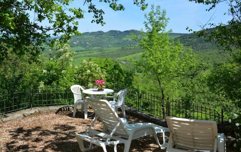 Location de vacances - Appartement à Radicondoli - PRIVATE  GARDEN LA CASINA
