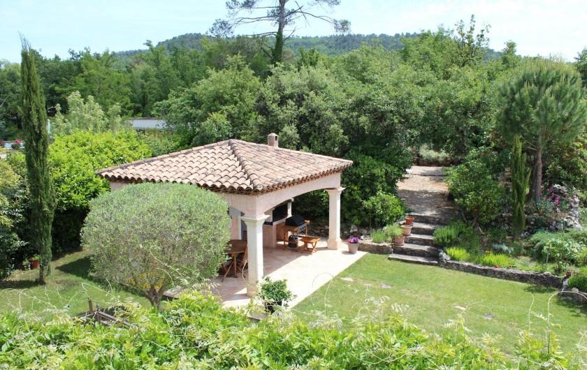Location de vacances - Maison - Villa à Forcalqueiret - Pool house.