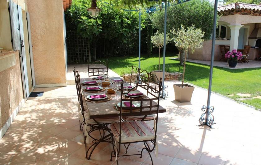Location de vacances - Maison - Villa à Forcalqueiret - Pergola.