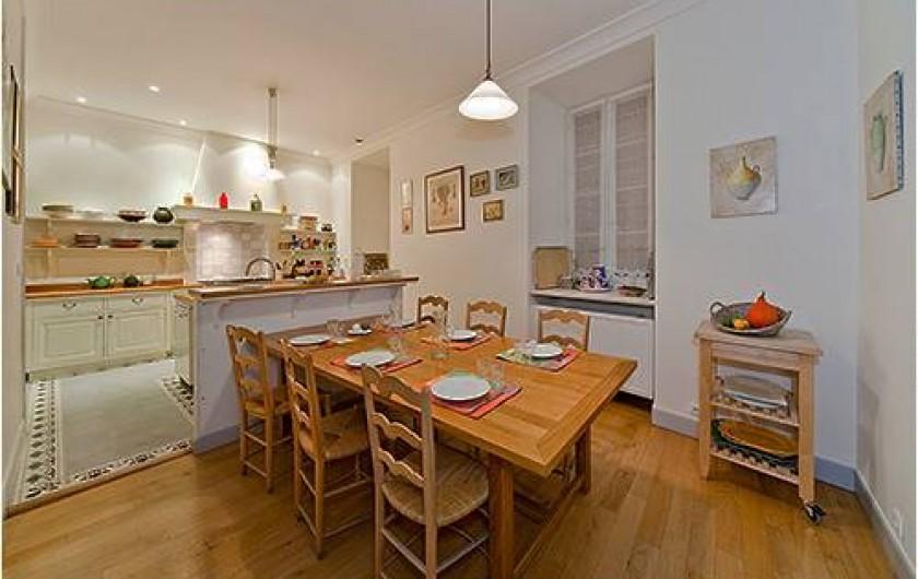 Location de vacances - Chambre d'hôtes à Embrun - Cuisine du Gîte