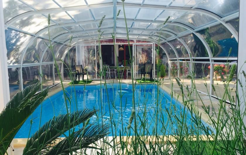 Location de vacances - Villa à Uzès - Piscine 4 x 8