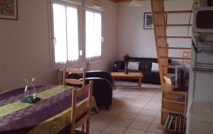 Location de vacances - Appartement à Gérardmer - salle à manger