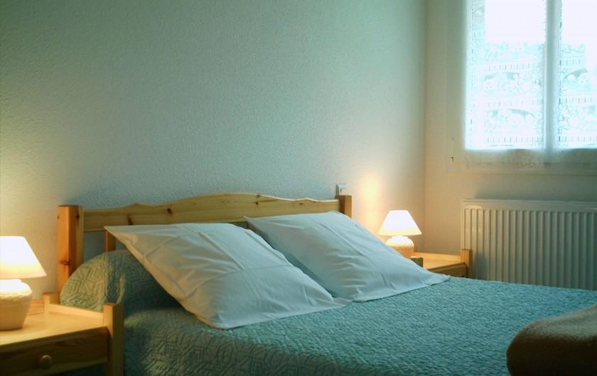 Location de vacances - Appartement à Gérardmer - chambre 1                         lit 2 personnes