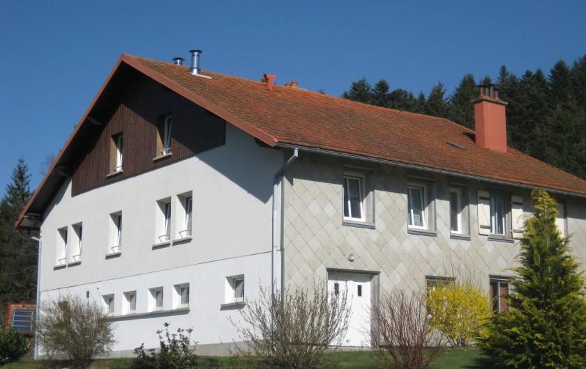 Location de vacances - Appartement à Gérardmer - gite au printemps