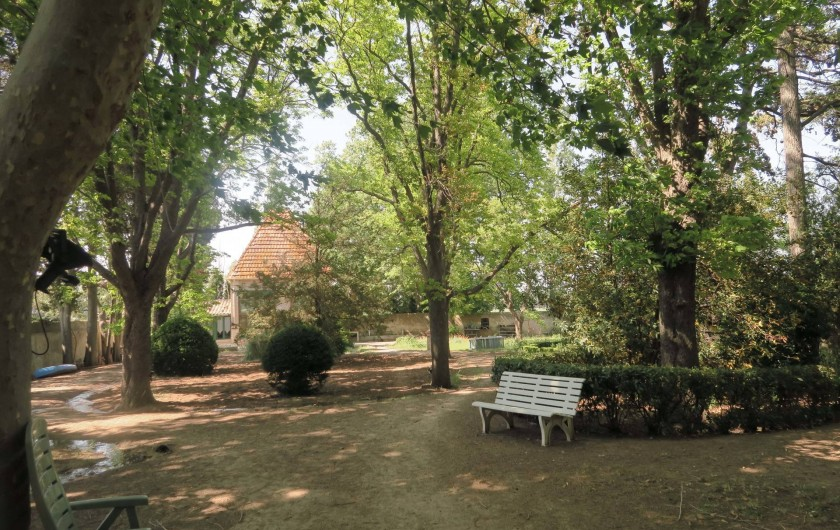 Location de vacances - Chambre d'hôtes à Ouveillan - l'orangerie