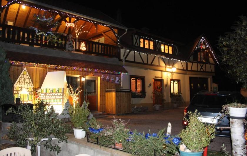 Location de vacances - Gîte à Nothalten - Noël au gîte