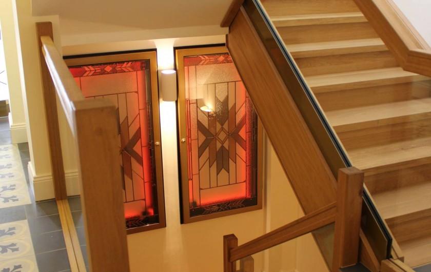 Location de vacances - Appartement à Bad Ems - Escalier