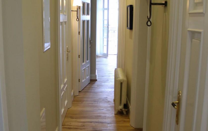 Location de vacances - Appartement à Bad Ems - Couloir