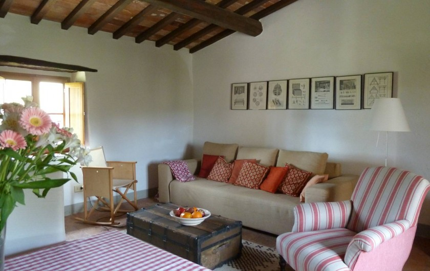 Location de vacances - Appartement à Greve in Chianti - Salon