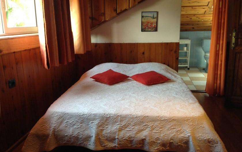 Location de vacances - Villa à Saint-Pierre - Chambre 4 : orange, climatisée