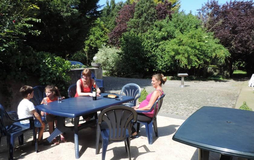 Location de vacances - Gîte à Lontzen - Terrasse